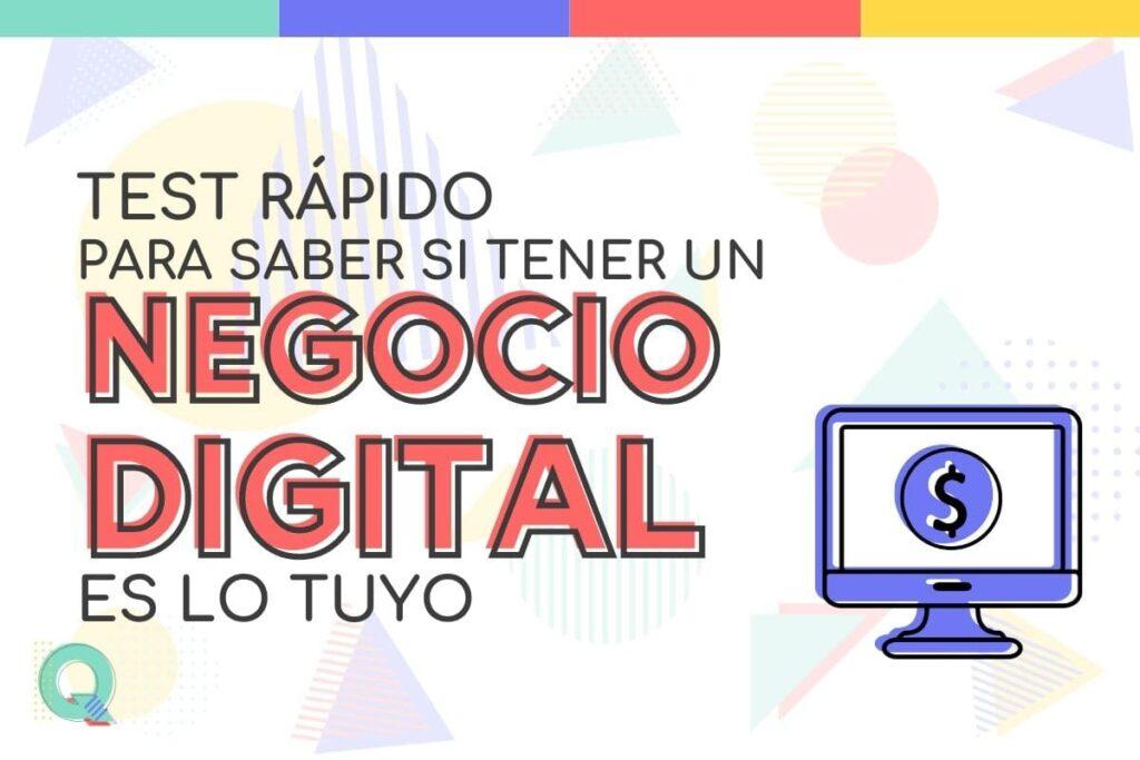 Test para saber si tener un negocio digital es lo mio