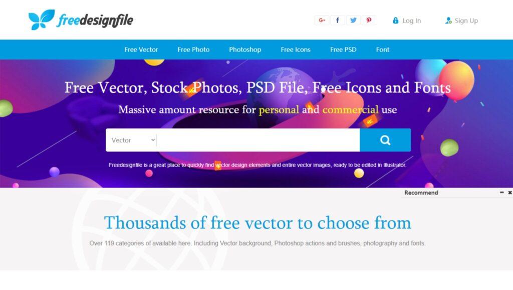 vectores gratuitos para photoshop e illustrator