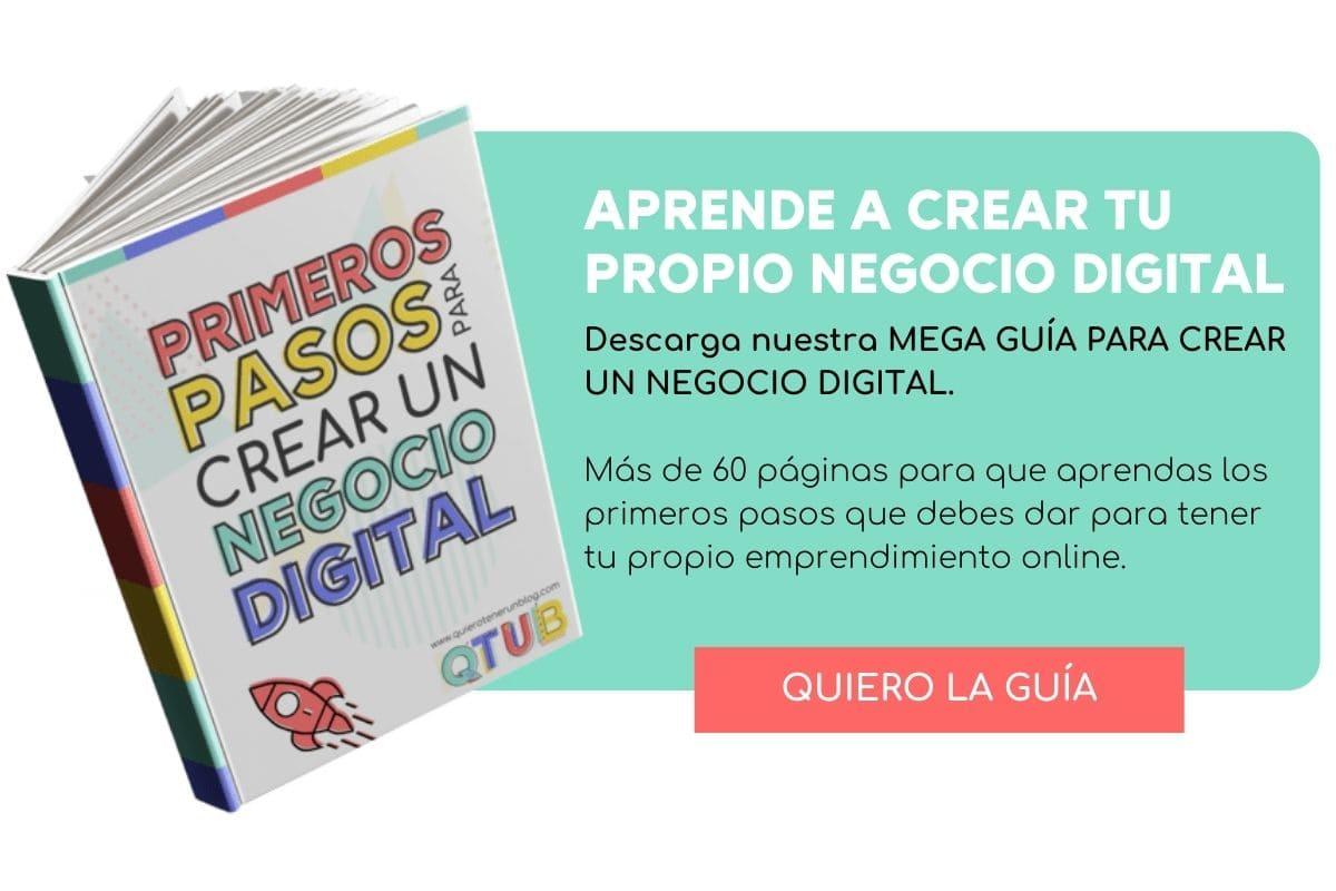 Aprende a crear tu propio negocio digital